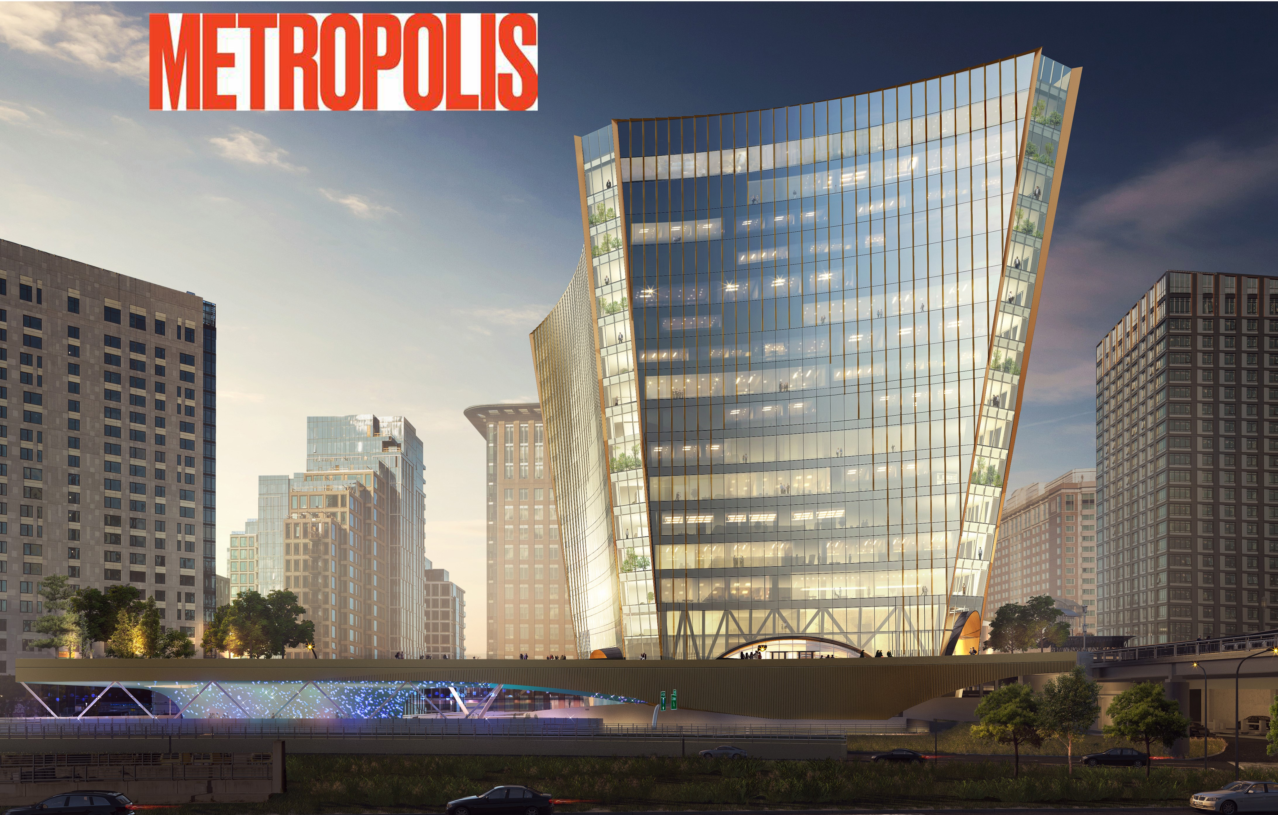 A New Tower, Underway in Boston's Seaport District Aims to Right Aesthetic and Environmental Wrongs